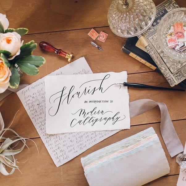 In The Modern Calligraphy You Will Learn To Create Your Own Save Dates Scrapbook Layouts Love Letters Invitations Envelopes And A Lot More