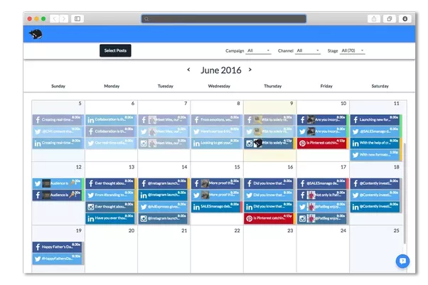 What Are The Key Elements Of A Social Media Editorial Calendar Quora - Hootsuite content calendar template