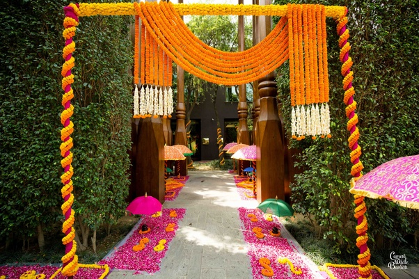 What Are The Best Mehendi Function Decoration Ideas For Day Quora