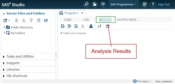 How to learn sas fast quora the results window displays the report or analysis results when a certain procedure is compiled 4 sas library fandeluxe
