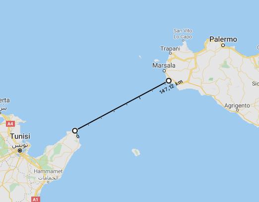 Cartina Geografica Isola Di Malta.E Piu Vicina All Africa L Isola Di Malta O La Sicilia Quora