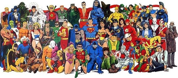 Which Universe Has The Most Powerful Superheroes And Villains