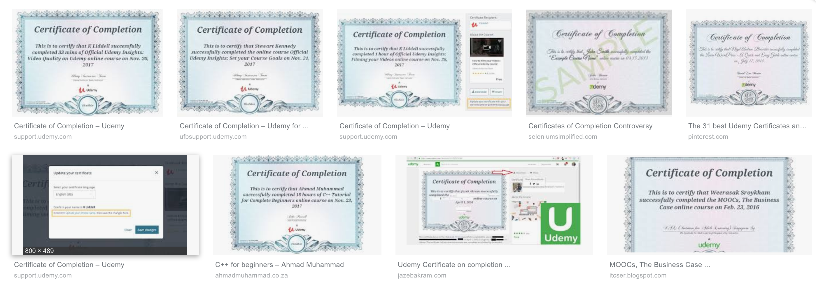 How to get a Udemy certificate for free without enrolling