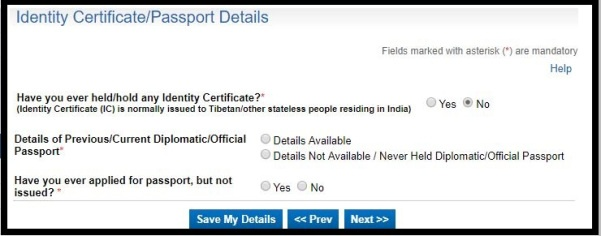 How to Apply for fresh Indian Passport Online. 14