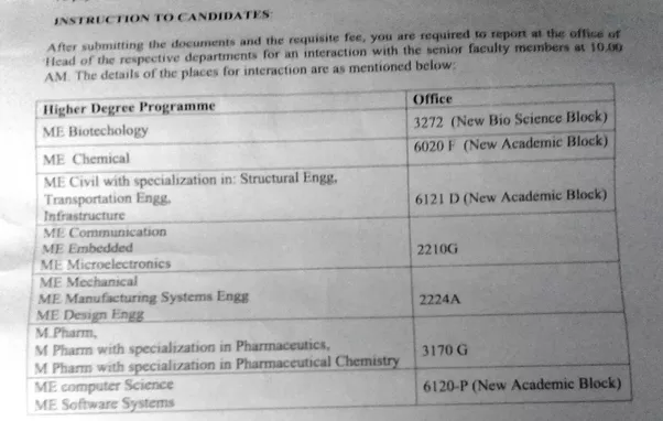 What Are Interview Questions Asked On Reporting Day For ME Program In Bits  Pilani?