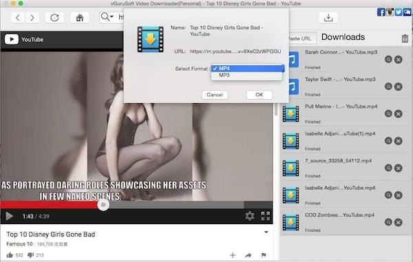 How to download youtube videos using tubemate quora step5 click ok to start downloading youtube videos on mac ccuart Choice Image
