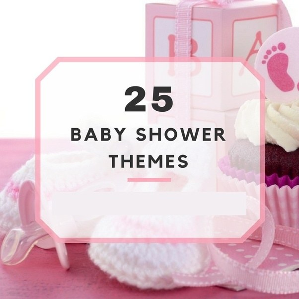 I Am Going To Plan A Baby Shower Party. What Theme Should