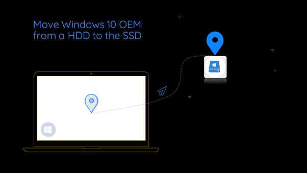Once I have Windows 10 OEM on my hard drive, can I transfer it to an