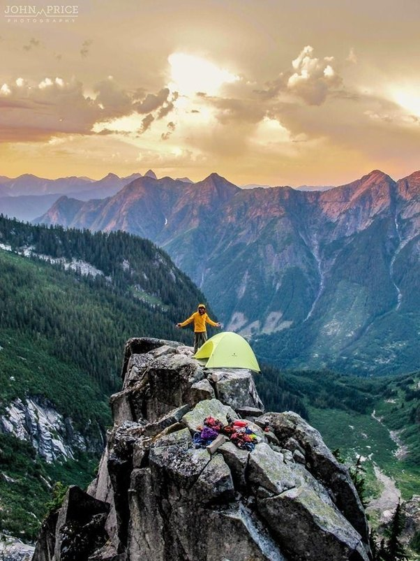 & Outdoors: Is it safe to pitch a tent at the top of a mountain? - Quora