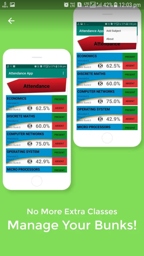 Android Attendance App Github