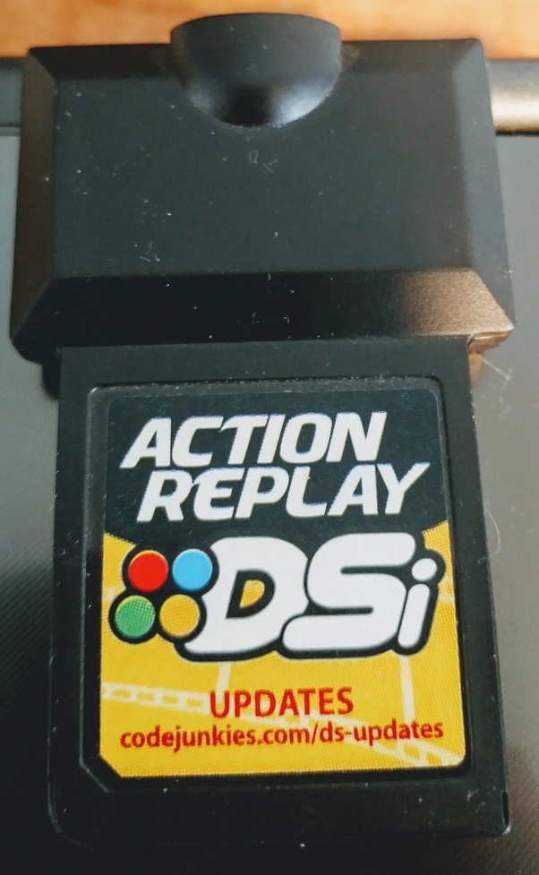 How to use action replay on a Nintendo 3DS - Quora