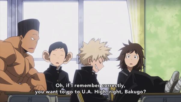Does Bakugo from Boku no hero, have a mental illness? - Quora