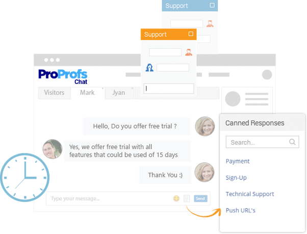 Track chats - Yes, this chat tool will let you monitor which agents are  chatting and the detailed chat conversations between your website visitors  and ...