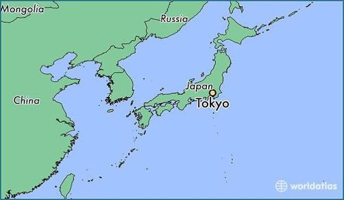 tokyo on japan map Why Can T People Locate Tokyo On A World Map Quora