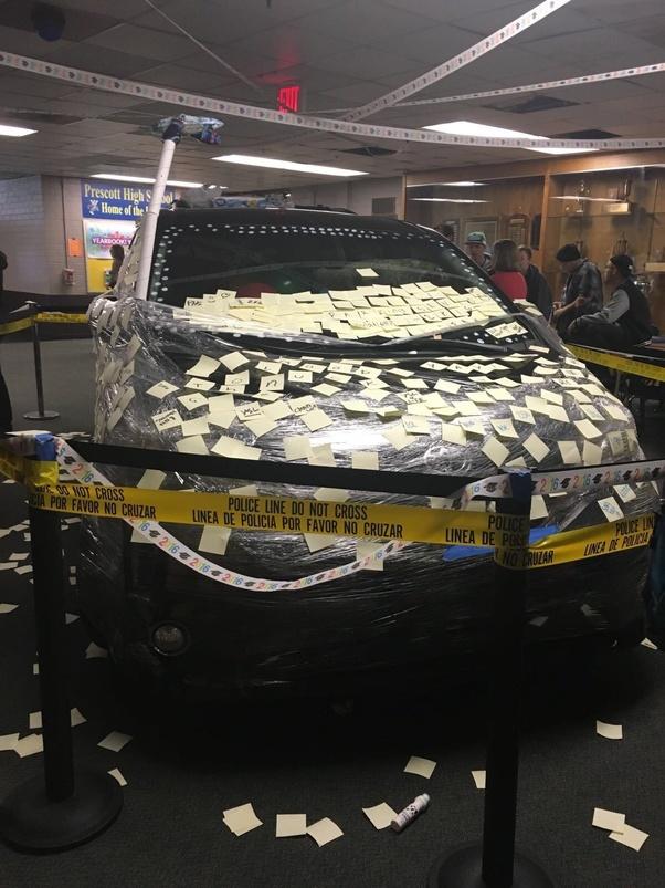 Real Look Brick Light Foam Practical Joke Smash Car Dad Builders Funny Clown