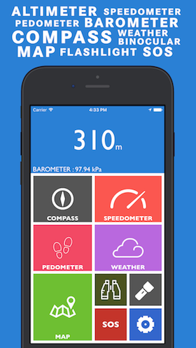 Which Is The Best AltimeterBarometer App For The IPhone Quora - Altimeter map