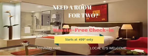 Book a hotel room for a few hours