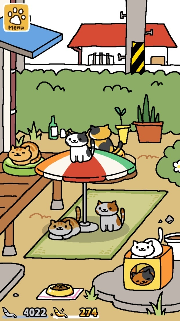 Here Is What Your Yard Should Look Like After You Do My Recommended Steps 1 7 This At Max Capacity Notice Two Cats Playing With The Orange Cube