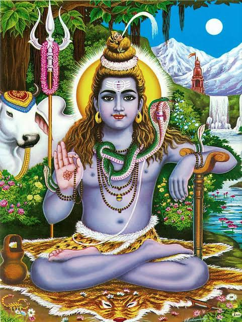 Why does Shiva sit on a lion's skin? - Quora