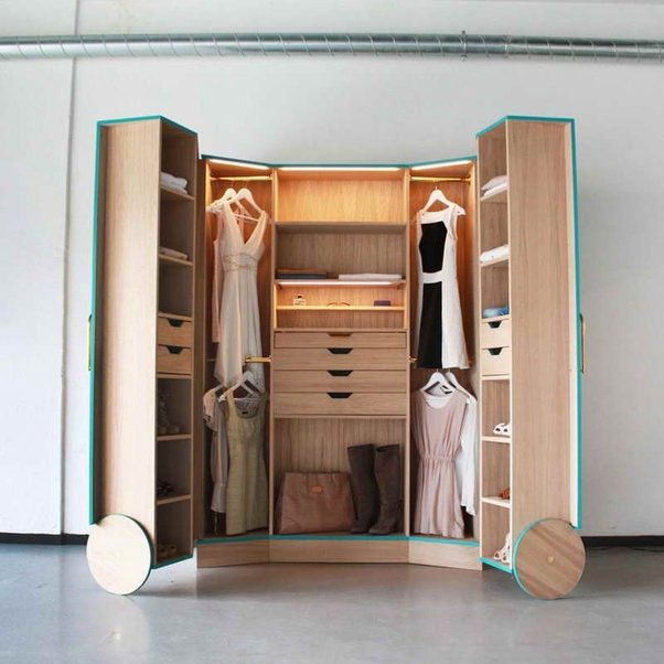 How To Hide My Closet Without Doors And Without Making My Room Look