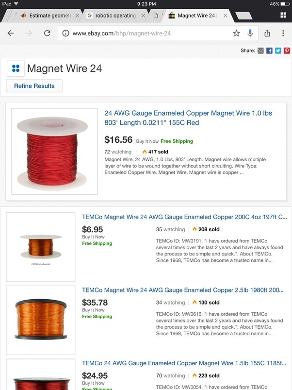 Where is a good source for a magnet wire for use in pcb wiring quora you can find magnet wire on ebay keyboard keysfo Image collections