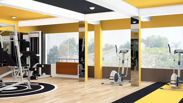 Here Are Some Interiors Of Gym Designed By The Imagine Studio