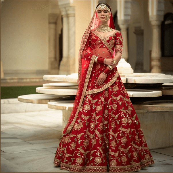 How Much Does A Sabyasachi Bridal Lehenga Cost?