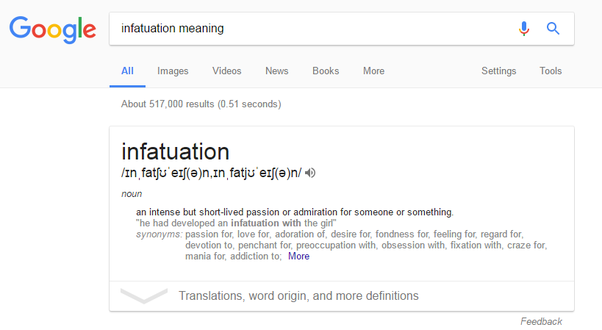 Infatuate meaning