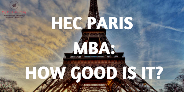 Is joining HEC Paris MBA a good option for an Indian