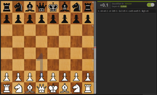 What are the best opening moves in chess to gain an upper