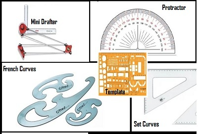 What Are The Instruments Required For Engineering Drawing