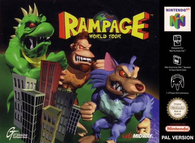 What is your review of the movie Rampage released in 2018