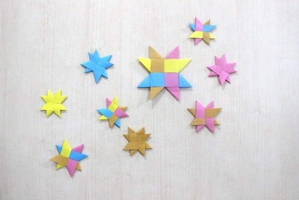 How To Make A Paper Origami Star Quora