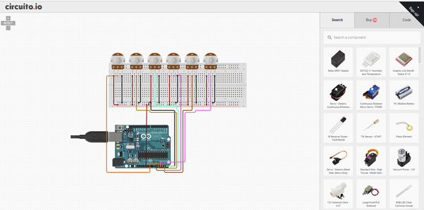 How to connect 6 potentiometers with arduino - Quora