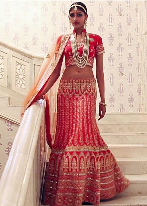 What is the best wedding reception costume for Indian bride and ...
