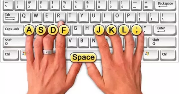 Why Do The F And J Keys On Keyboards Have Bumps On Them Quora