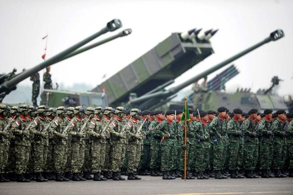 Indonesia boosts military presence near Australia and ...  Indonesian Military Strength
