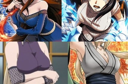 In anime boobs biggest Mega Boobs