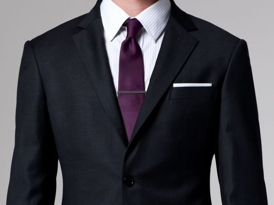 31664c5936c3 What colour suit goes well with a purple tie? - Quora
