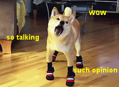 Why has the doge meme seemingly attracted a more intelligent crowd need that other memes have to be found funny doge feels as you feel about the internet and hes here to be as weird and orthogonal to it as possible solutioingenieria Images