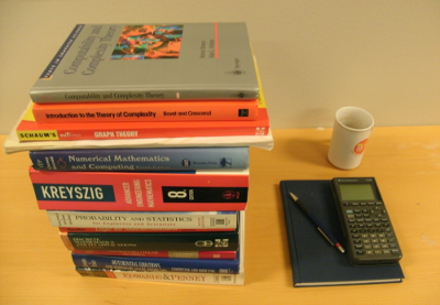 How difficult is the math in a masters in computer science degree i have only my own experience to go by but here are the math books i went through before earning a masters degree in cs solutioingenieria Choice Image