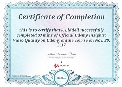 Does Udemy provide certificates upon completion of any