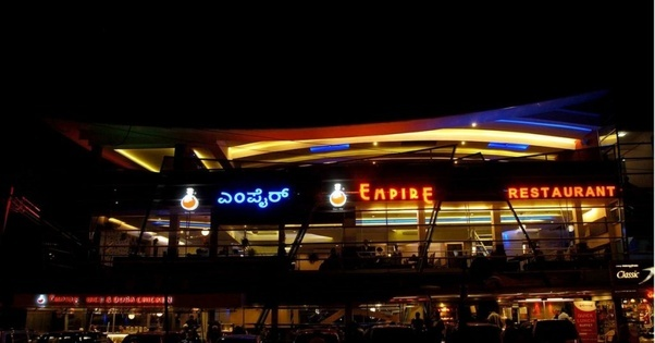 Of Koramangala You Will Find One Or The Other Restaurants Which Are Open And In Bad Luck Have Empire Be Till 2 Am