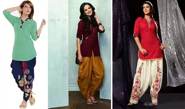 what to wear with short kurti