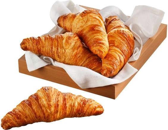 What do French people think about the fact that the British prefer straight  croissants to the curved ones because it's easier to spread jam and butter  on the straight croissants? - Quora