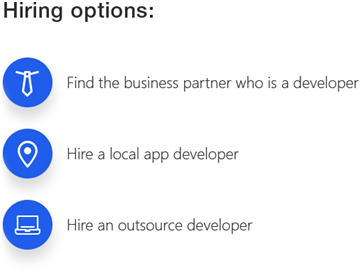 how to find someone to develop an app