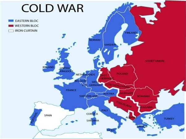 What was life in europe like after ww2 quora the iron curtain was a border which separated the western blocwestern europe usa from the eastern one soviet union eastern european countries gumiabroncs Choice Image