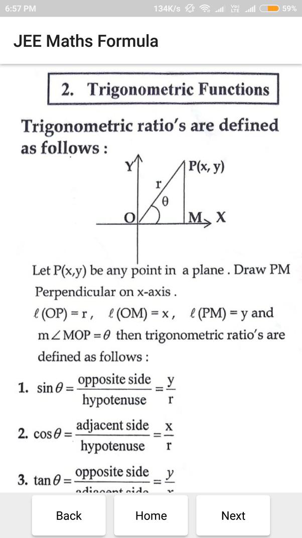 Maths Formulae Book