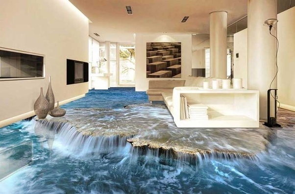 What material is used for 3D epoxy flooring? - Quora