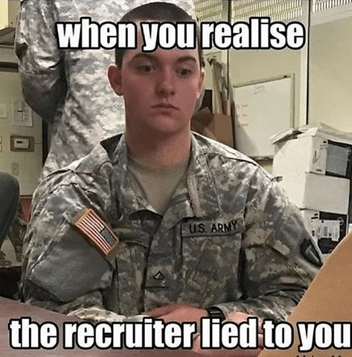 Have you been deceived by a military recruiter? - Quora